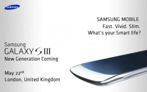 Conferinta de presa Samsung Galaxy S3
